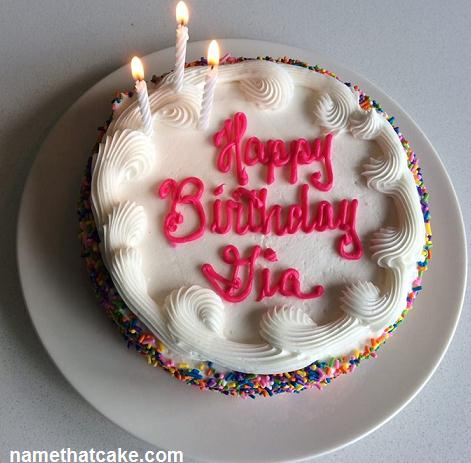 Birthday Cake Images For Email : Name That Cake - Send a virtual birthday cake to a friend ...